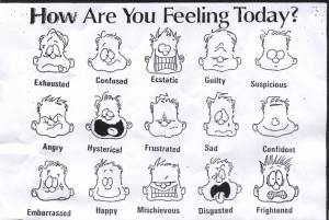 how u are feeling